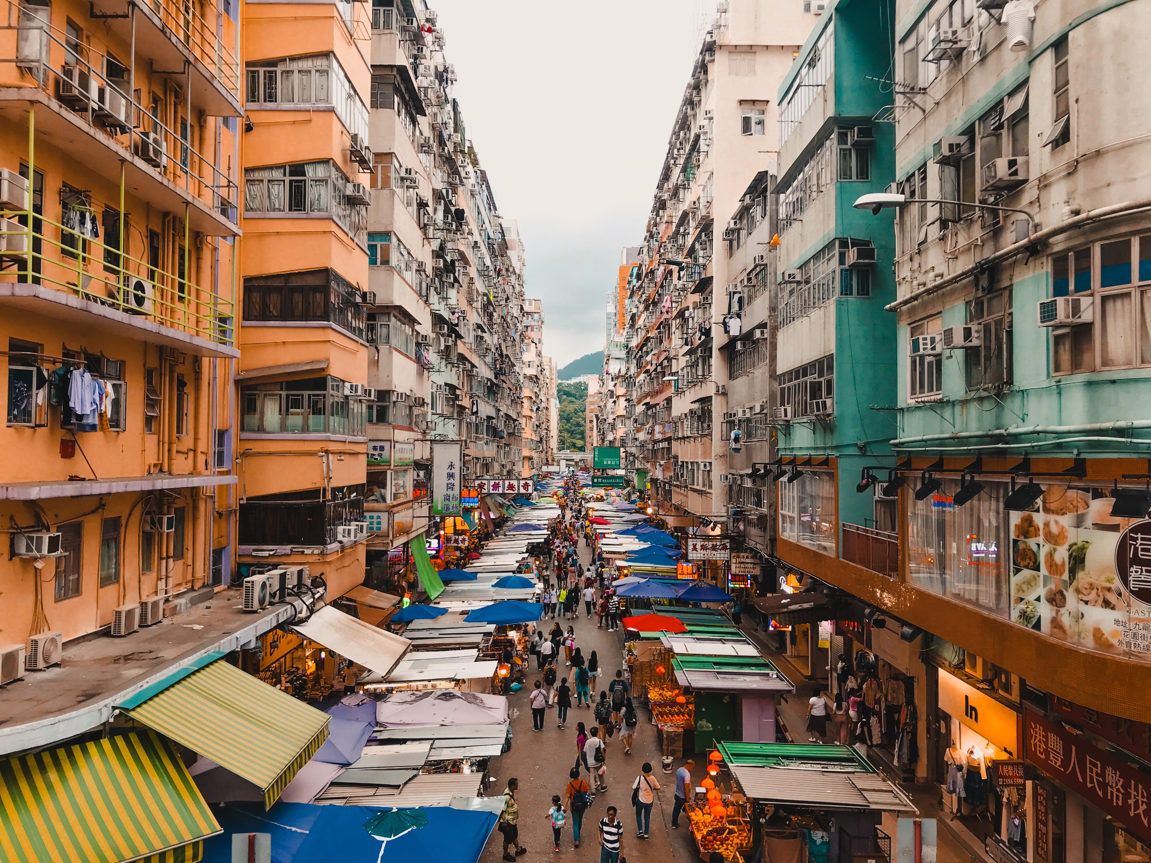 Fa Yuen Street Hong Kong