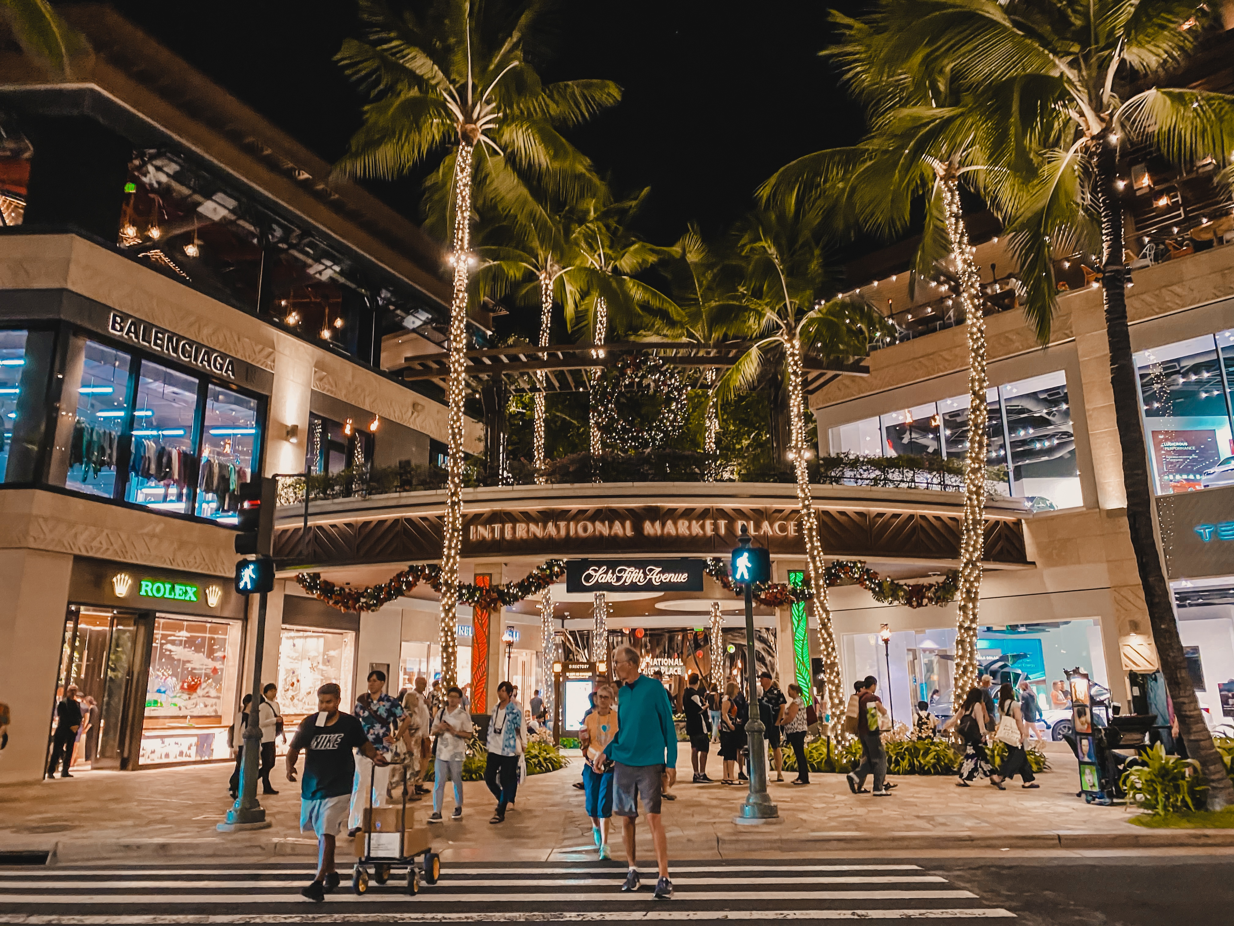 Shopping in Hawaii