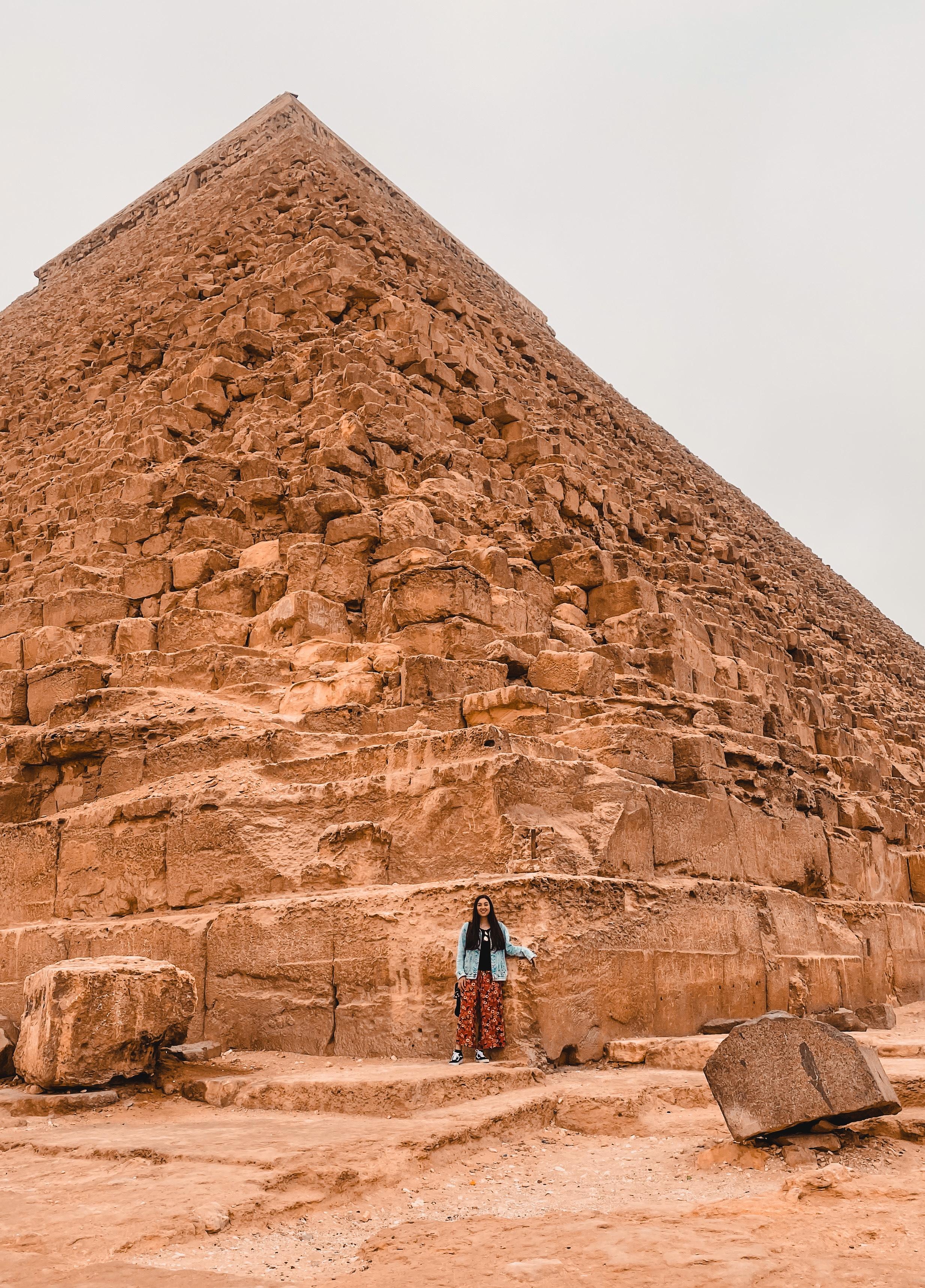 exploring in Giza