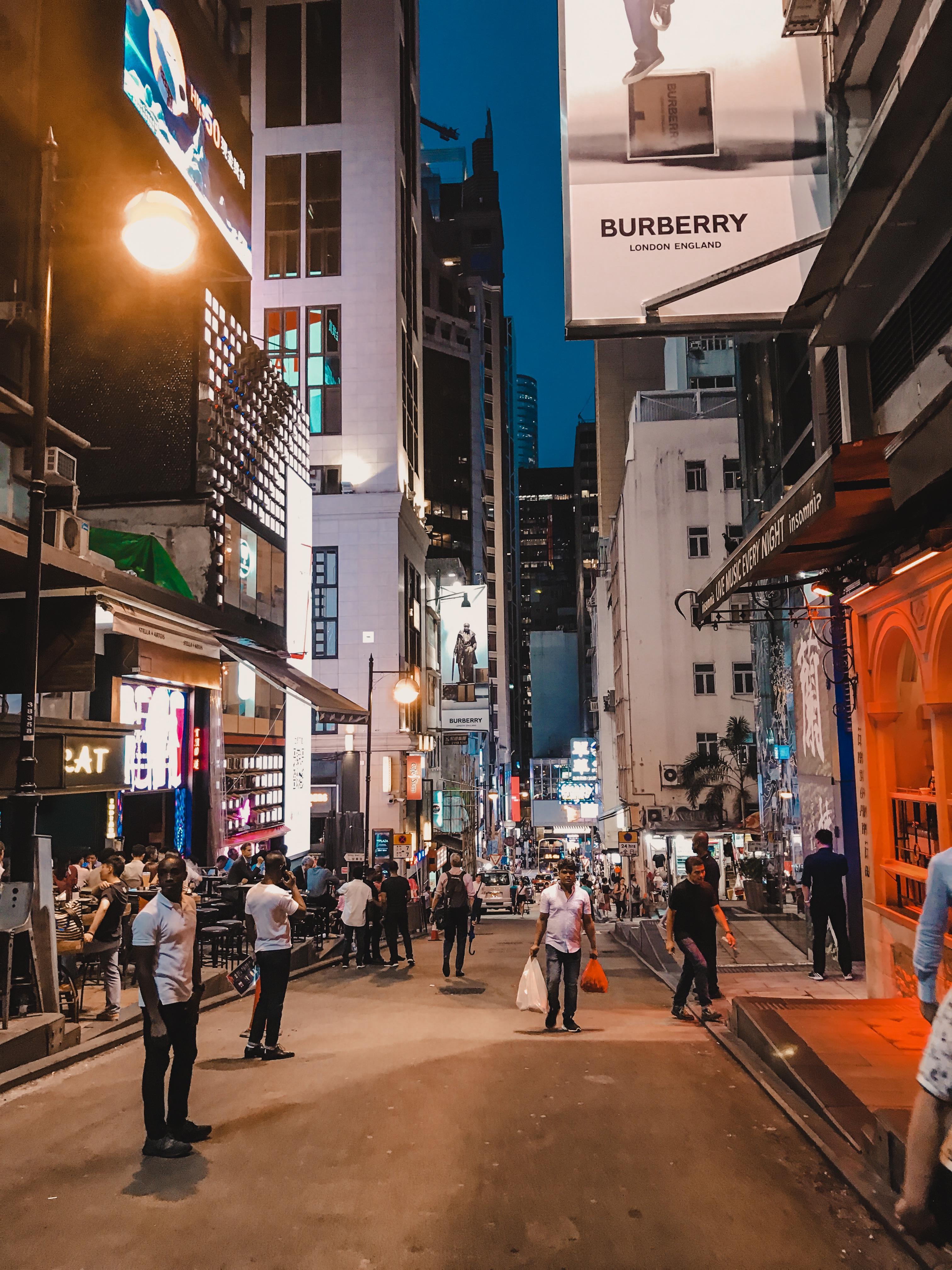 Lan Kwai Fong Party Hong Kong